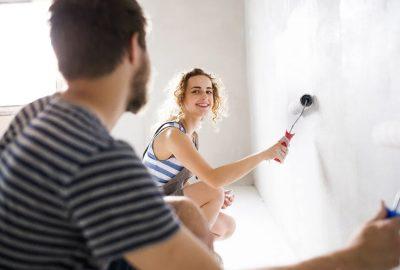 搬家 如何快速粉刷新房間?
