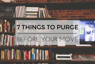 移動前要清除的7件事
